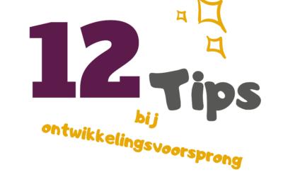 12 tips bij ontwikkelingsvoorsprong